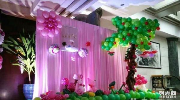 成都气球装饰 成都气球布置 成都气球造型