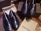 欧洲站编织男鞋英伦绅士豆豆潮流鞋休闲驾车鞋2014年秋季新款真皮
