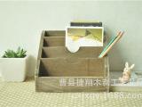 厂家直销办公用具 收纳盒 多功能笔筒 耐用木制笔筒 特价供应批发