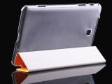厂家直销 三星TAB4皮套 3折透明壳 TAB4 8.0保护套