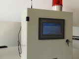 遠程消防水箱觸摸屏水位監測設備