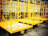 厂家直销牵引平板拖车/行李拖车/货物拖车
