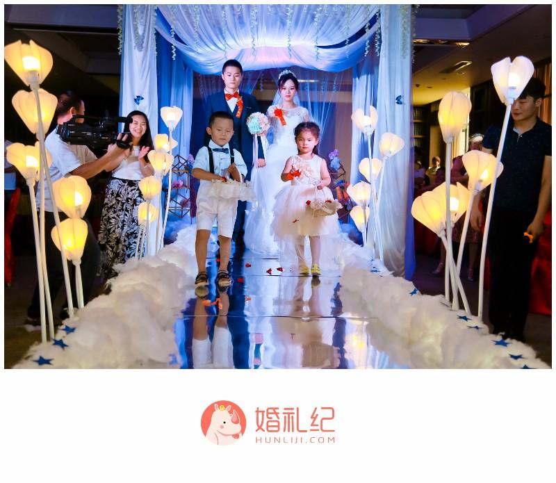 较新颖的婚礼布置,超高性价比,个性化的婚礼流程