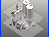 粉體自動輸送系統 粉體自動上料配料系統 粉體自動配料系統