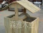 木别墅凉亭定做 木凉亭施工单位 洛阳防腐木厂家