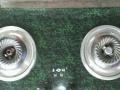 自用然气灶 台式嵌入式 双灶 钢化玻璃台面