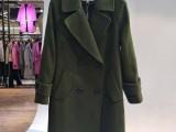 尚缇诗大衣呢大衣双面尼 品牌女装折扣批发 一手货源