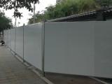 广州平面双层彩钢泡沫荚心板围挡 2米高工地临时围蔽挡板