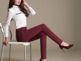 新款提臀小脚裤 弹力休闲铅笔裤 女士必备百搭小脚裤 显瘦紧身裤