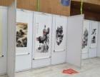 专业提供上海书画展览布置 挂画展板展架制作租赁服务