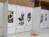 專業提供上海書畫展覽布置 掛畫展板展架制作租賃服務