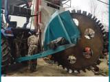 1米深圆盘开沟机开挖自来水管道 天然气管道