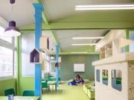 宝三幼儿园墙面粉刷刷新,立邦环保涂料,内外墙翻新改造