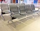 重庆机场椅生产不锈钢机场椅 机场排椅机场椅三人位不锈钢连排椅