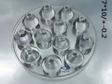 LED路灯透镜玻璃 LED玻璃模组透镜