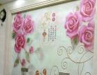 贴墙 布墙纸 壁画 团队施工