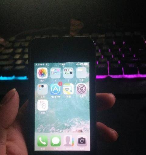 黑色国行iPhone4S转让