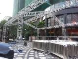 高明庆典铝架帐篷吧台吧椅舞台背景开业庆典年会布置水雾风扇空飘