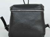 日本设计师原创设计二层真皮休闲小书包