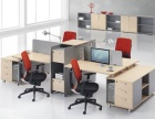 北京员工桌椅定做办公工位隔断定做