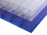 苏州10mmPC阳光板/车雨棚顶棚采光塑料中空板