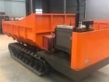 廠家供應柴油機履帶運輸車農用山地工程履帶式搬運車物料翻轉車