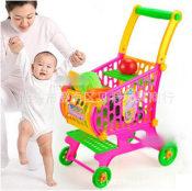 儿童仿真蔬菜水果超市购物车儿童推车淘宝热销塑胶玩具 2015新款