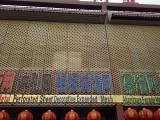 安平县粉末喷涂哑光黑外墙装饰铝板网