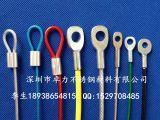 厂家直销压制不锈钢丝绳端子 压接钢丝绳/