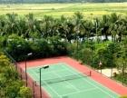 丙烯酸篮球场 羽毛球场 网球场地坪施工工程