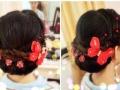 潮州新娘化妆 婚礼跟妆专业化妆师