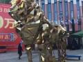 银川黄金大狮子低价出售镜面金狮生产制作厂家