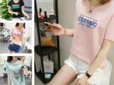 便宜女装上衣韩版女士上衣夏季短袖清货几元服装清货5元以下处理