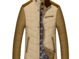中老年男装 冬装外套中年男士棉衣 爸爸装外套冬中老年棉服男加厚