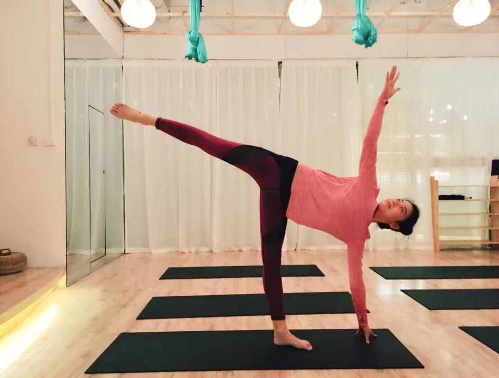 西安瑜伽馆 练瑜伽 千水莲瑜伽连锁