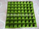 定做壁挂垂直毛毡植物墙袋可立体 种植美化环境 可按客户要求定