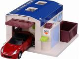 专柜正品超低价TOMY汽车世界场景配件多美卡停车库