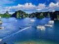 越南河内水墨下龙湾畅游越北双飞五天四晚亲子游