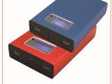 较新款的带液晶显示屏的可装4节18650电芯的电源壳918