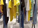 广州牛仔T恤女装品牌折扣推荐富择锋工厂直销一手货源