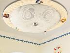 波西米亚灯具地中海吸顶灯LED儿童卧室餐厅温馨贝壳吸顶灯400mm