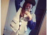 东大门女装宽松毛衣外套短款棒球服女韩版学生开衫女秋冬一件代发