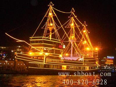 上海浦江游览自助餐 船长8号228元 浦江游览自助餐