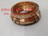镀镍铍铜簧片,镀锡铍铜弹片,指型铍铜簧片