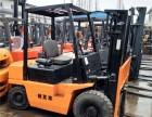 二手3吨杭州叉车出售,4米门架3吨二手叉车,自动挡带侧移叉车