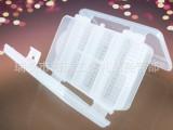 厂家直销双面 透明塑料收纳盒 10格三层折叠便携针线盒 随身药盒