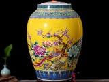 陶瓷米缸 家用厨房带盖陶瓷储蓄罐生产批发厂家