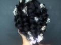 梅州新娘化妆盘发