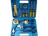 超低价五金工具箱馈赠礼品套装12件工具组合套装家用工具套装