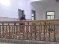 厂家直销菠萝格实木楼梯扶手复式护栏 阳台栏杆 欢迎